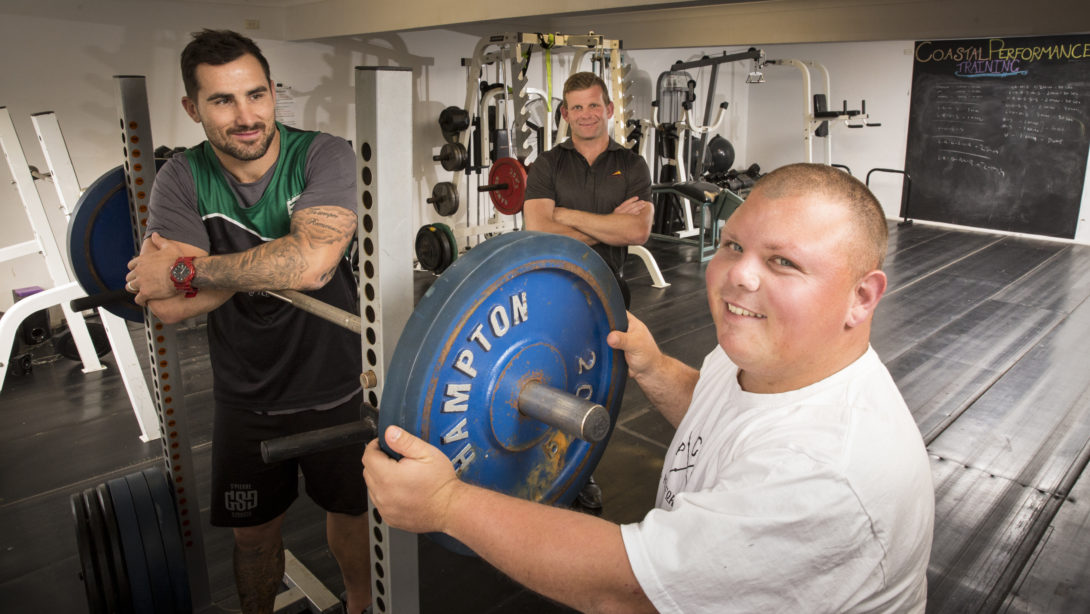Luke Grant (employer), Alex Moore (account manager) and Shaun Smith (participant).
